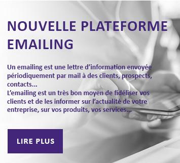 Nouvelle plateforme emailing